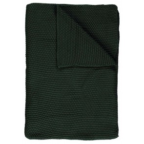 Marc O'Polo Plaid Nordic Knit Forest Green