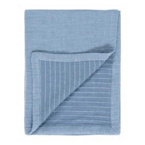 Marc O'Polo Plaid Reyn Stone Blue (180x250cm)