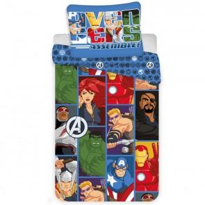 Marvel Avengers Dekbedovertrek Cartoon