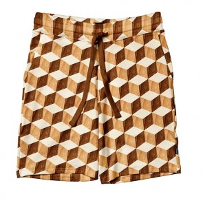 Snurk Shorts Man Wooden Cubes
