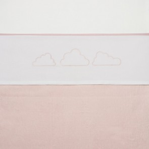 Meyco Laken Little Clouds Lichtroze