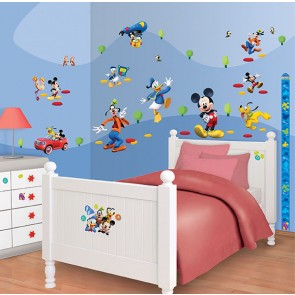 Mickey Mouse Muurstickers (Walltastic)