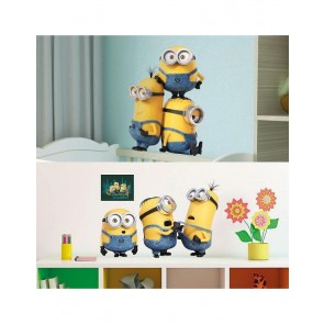 Minions Muursticker Relax and Fight 41 x 27 cm