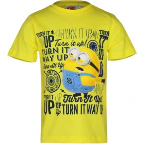 Despicable Me T-Shirt Geel