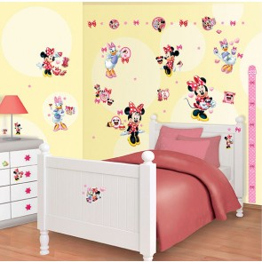Minnie Mouse Muurstickers (Walltastic)