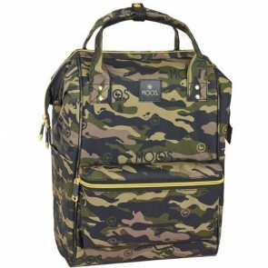 Moos Laptop Rugzak Camouflage - 40 x 27 x 19 cm