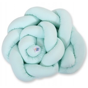 My Sweet Baby Bed/Boxbumper Knot Mint