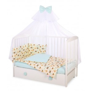 My Sweet Baby 3-delig Set Tipi Tent Creme Mint