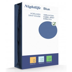 Nightlife Double Jersey Interlock Blue