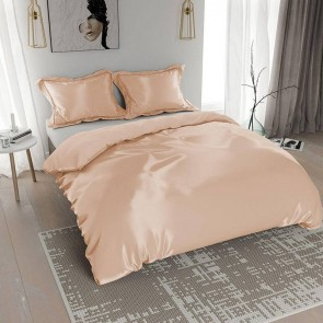 Nightlife Silk Dekbedovertrek Satin Taupe