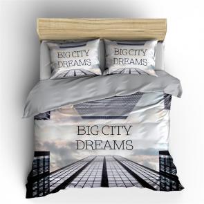 Nightlife Big City Dreams Dekbedovertrek Multi
