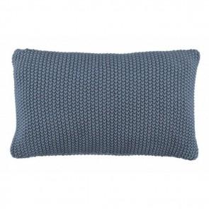 Marc O'Polo Sierkussen Nordic Knit 30 x 60 cm Smoke Blue