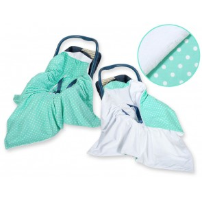 Omslagdoek/Maxi Cosi Dots/Mint