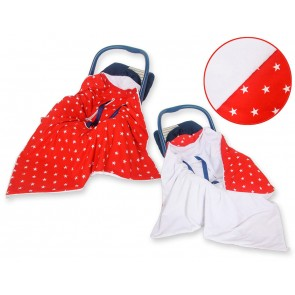 Omslagdoek/Maxi Cosi Stars Red