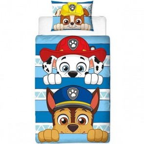 Paw Patrol Dekbedovertrek Peek Chase Marshall Rubble