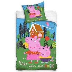 Peppa Pig Dekbedovertrek Magic