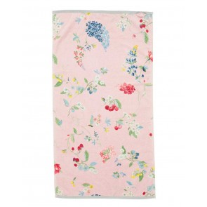 Pip Studio Baddoek Hummingbirds Pink 55x100cm