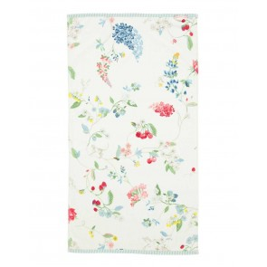 Pip Studio Baddoek Hummingbirds Star White 55x100cm