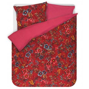 PiP Studio Dekbedovertrek Floral Delight Red