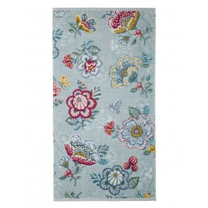 Pip Studio Douchelaken Berry Bird Blue 70x140cm