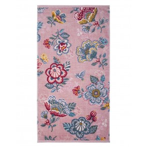 Pip Studio Douchelaken Berry Bird Pink 70x140cm