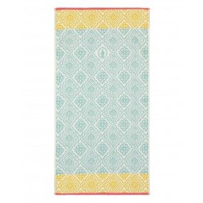 Pip Studio Douchelaken Jacquard Check Light Blue 70x140cm