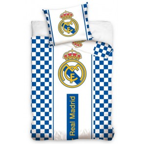 Real Madrid Dekbedovertrek Logo