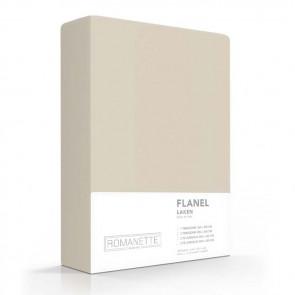 Flanellen Lakens Romanette Zand