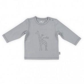 Jollein Shirt Lange Mouw 74/80 Safari Grey
