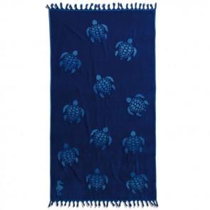 Seahorse Strandlaken Tartaruga Ocean Blue 100x180cm