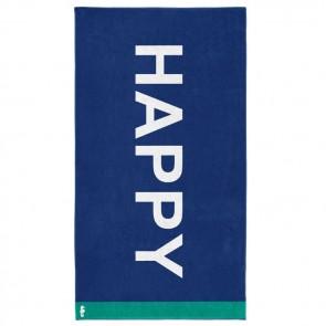 Seahorse Strandlaken Happy Blue 100x180cm