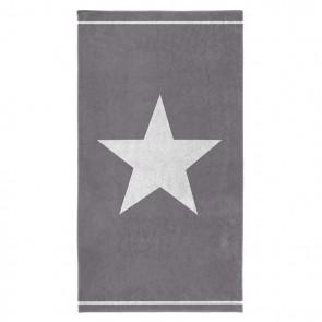 Seahorse Strandlaken Star Grey