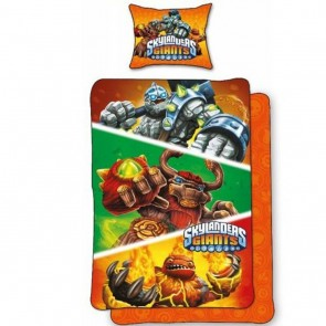 Skylanders dekbedovertrek Giants Oranje