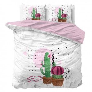 Sleeptime Dekbedovertrek Love Your Cactus