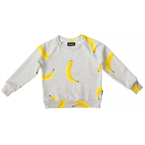 Snurk Kids Sweater Banana Grey