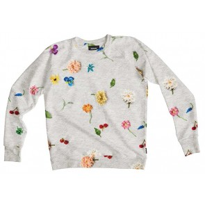 Snurk Sweater Man Knitted Flowers