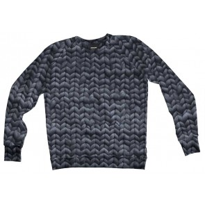 Snurk Sweater Man Twirre Steel Grey