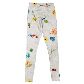 Snurk Kids Legging Knitted Flowers