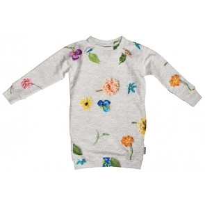 Snurk Kids Sweater Dress Knitted Flowers