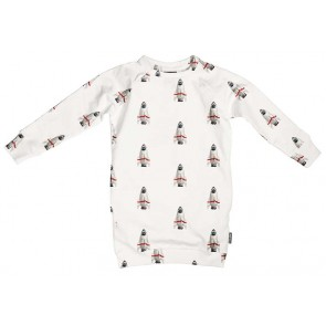 Snurk Kids Sweater Dress Rockets