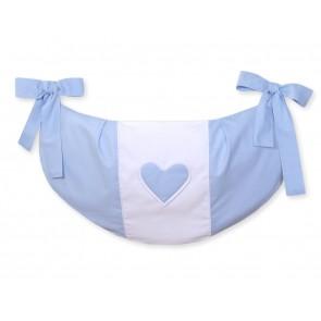 My Sweet Baby Speelgoedzak Two Hearts Blauw