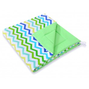 Speelkleed Tipi Tent Chevron Green-Blue