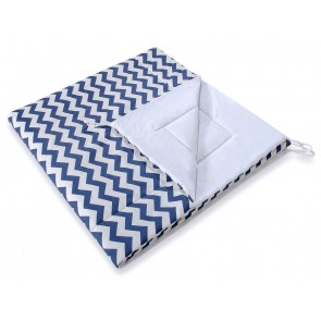 Speelkleed Tipi Tent Chevron Navy Blue