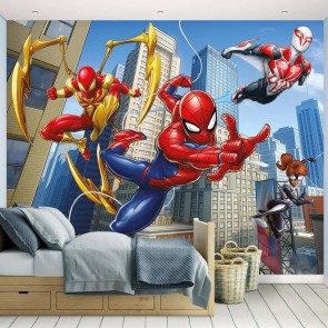 Muurstickers Kinderkamer Spiderman.Muurstickers Babykamer Baby Peuters