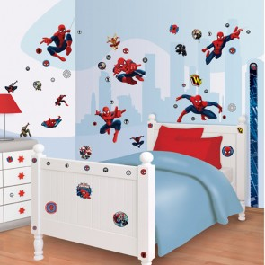 Spiderman Muurstickers (Walltastic)
