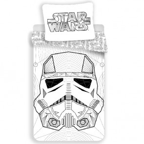 Star Wars Dekbedovertrek White