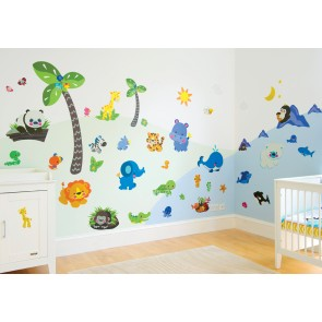 "Stickers Precious planet ""Room make over kit"""