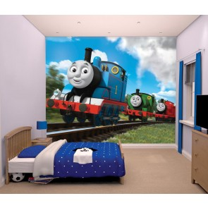 Thomas de Trein & Friends Fotobehang (Walltastic)