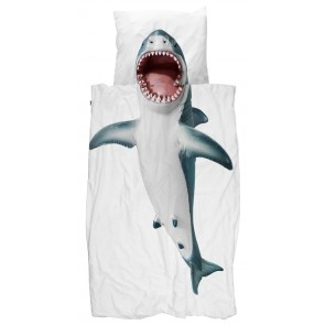 Snurk Dekbedovertrek Shark!!