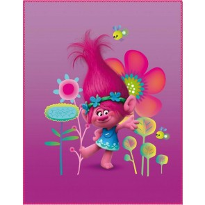 Trolls Plaid Poppy